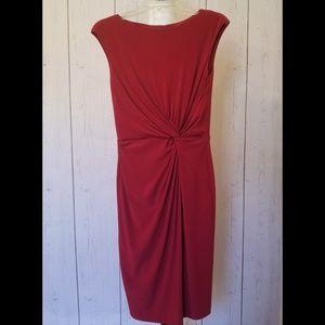 Lauren by Ralph Lauren Deep Red dress